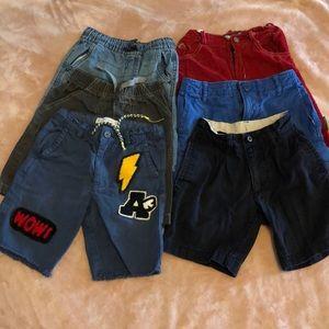 Bundle of boys 6y shorts